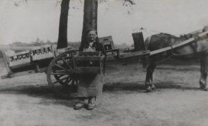 Karel Van Oevelen - Essen - Paard en wagen