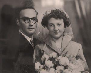 Karel Van Oevelen en Maria Konings 1955 - Essen