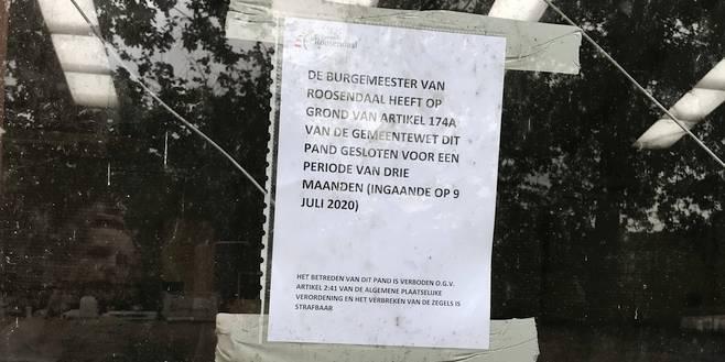 Martelloods in Wouwse Plantage per direct gesloten