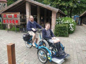 Rolstoelfiets Essen primeur in Vlaanderen