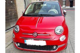 Weer Fiat 500c gestolen