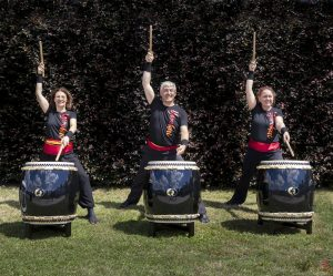 Annick Robberecht - Yorokai - taiko drumming - Noordernieuws - foto flyer