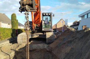 Heraanleg Over d'Aa werken kruispunt Postbaan tot begin september