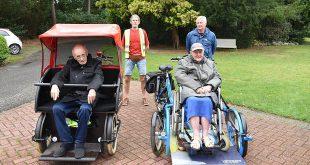 Luc Brosens en Luc Peeters - Fietstochten met bewoners St Michael Essen - (c) Noordernieuws.be - HDB_2019u70