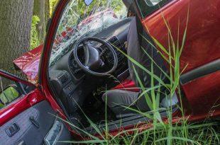Autodieven vliegen met gestolen auto tegen boom