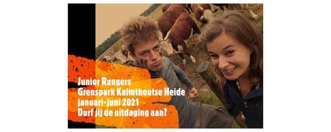 Junior Rangers in Grenspark Kalmthoutse Heide