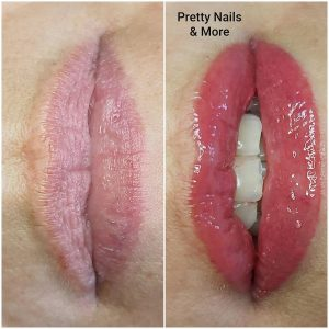 Kaily Krols - Schoonheidsspecialiste Essen - Pretty Nails and more - Full lips permanente make up