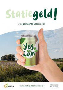 Ook de gemeente Essen zegt Statiegeld, Yes We Can!2