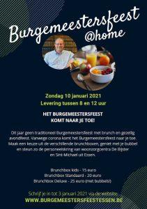Burgemeestersfeest Essen 2021 komt naar u toe!2