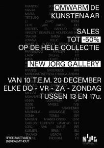 Jorg Van Daele 'Omwarmt' de artiesten