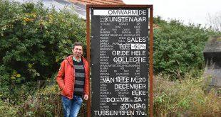 Jorg Van Daele omwarmt de artiesten - Expositie uitverkoop kunstwerken - HDB_2815u70
