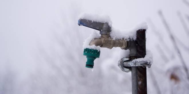 Laat je waterleiding niet in de kou staan