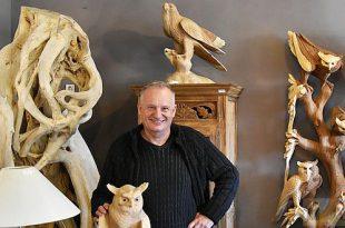 Robert Ruijzenaars - Romantice Wonen - Kalmthout - Beelden, Aziatische beeldentuin en houtsnijwerk
