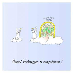 Marcel Verbruggen is niet meer