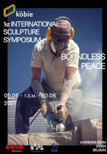 VZW Kobie en Jorg Van Daele organiseren internationaal beeldhouwerssymposium! affiche