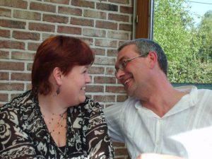 Zij vonden hun grote liefde via internet. Marc en Sandra vertellen!9