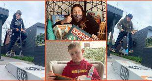 Corona uitbraak Wigo - Kinderen vertellen hun verhaal - Lex, Lis, Ube en Toon - (c) Noordernieuws 2021