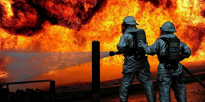Brand op Groot Schietveld: einde coördinatie