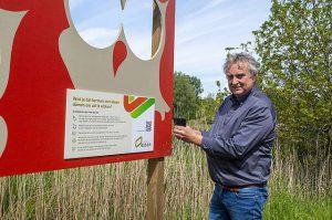 Bermborden informeren over ecologisch bermbeheer in Essen4