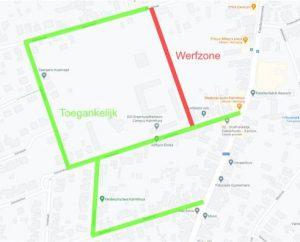 Erasmuspad vanaf 17 mei afgesloten voor aanleg parking
