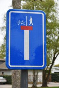 Verkeersborden - Doodlopende straat - (c) Noordernieuws.be 2021 - HDB_3512