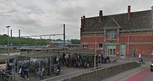 Blue-bike deelfietsen nu beschikbaar aan het station van Essen