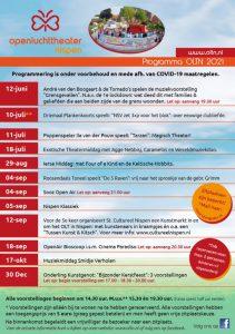 Het weekend van 10 en 11 juli is het theater wat in Nispen de klok slaat3