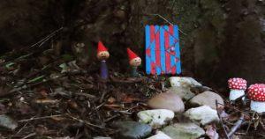 Kaboutertjes markeren sprookjeswandeltocht in de kloostertuin4