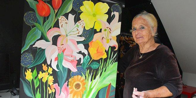 Kleurrijke expositie van Lieve Van Daele - 80 jaar - Essen - Kalmthout - (c) Noordernieuws.be - HDB_4130u3