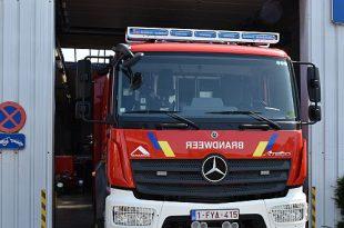 Kalmthoutse brandweer in de bres bij noodweer