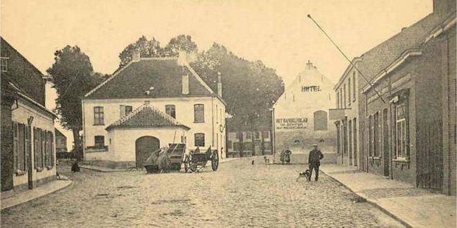 Geschiedenis van Essen - Vroeger en nu - Fam.VanBragt.Heuvelplein u80