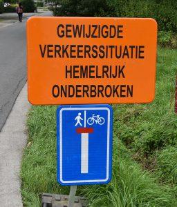 Hemelrijk Essen afgesloten voor verkeer - (c) Noordernieuws 2021 - HDB_4277s