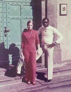 Johnny Tholen met zijn vrouw Loes - Johnny Otis - Noordernieuws.be - WA0001s85