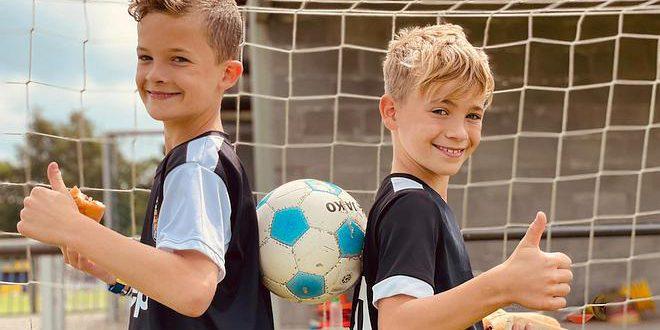 KSV Wildert Voetbal - De broers Sam en Bent van Hemelrijck - Noordernieuws.be 2021