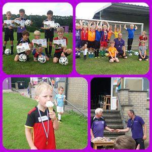 Kinderen genieten op voetbalkamp KSV Wildert9