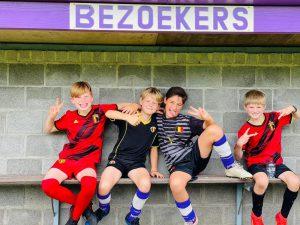 Kinderen genieten op voetbalkamp KSV Wildert