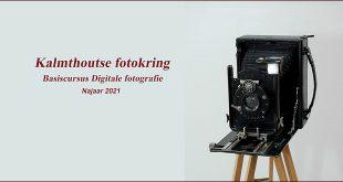 Kalmthoutse fotokring organiseert basiscursus digitale fotografie -