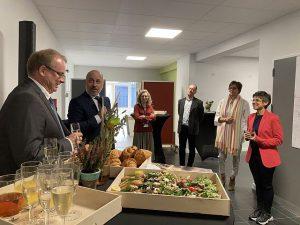 Gouverneur Cathy Berx en deputatie op werkbezoek in Essen2