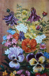 Lisette Brosens - Hobby kunstschilderen - Bloemstuk