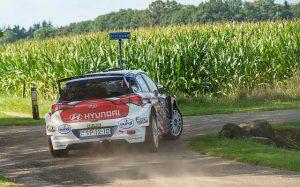 Bob de Jong nipt tweede in Eurol-Hellendoorn Rally