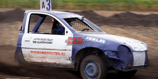Autocross Minderhout 2021 - The Claydiggers