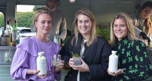 Charlotte, Nanouck en Ann-Sophie presenteren Clover Limonetta